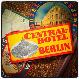 Central Hotel, Berlin, kuffert mærkat