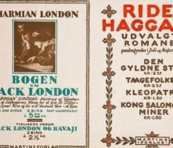 Jack London / Rider Haggard