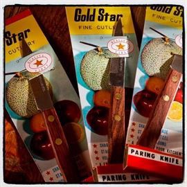 Gold star knive