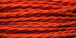 Orange snoet rayon stofledning