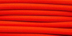 Orange neon rayon stofledning